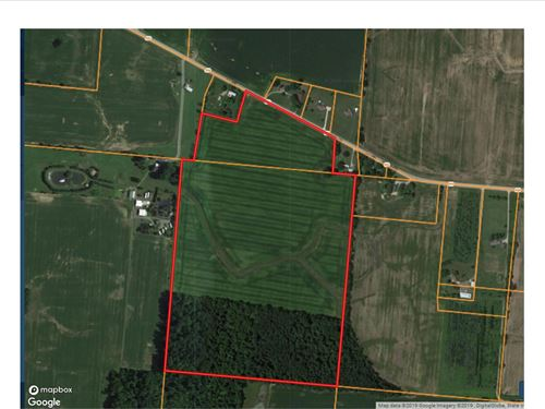 67 Acre Small Farm Auction, Morrow : Cardington : Morrow County : Ohio