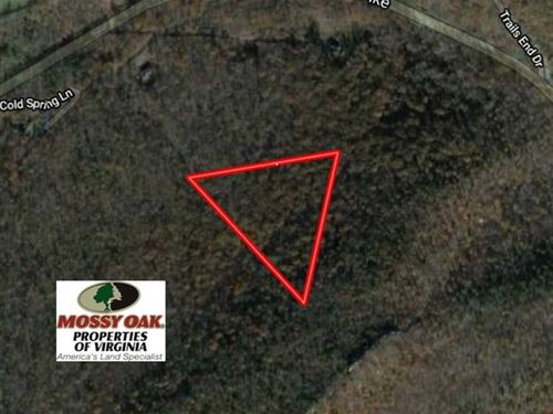 6.63 Acres of Residential Land For : Star Tannery : Frederick County : Virginia