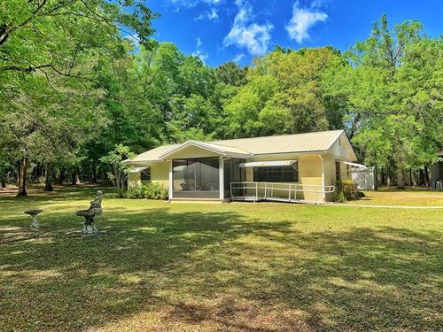 Country Home Bell Florida 3/2 Close : Bell : Gilchrist County : Florida
