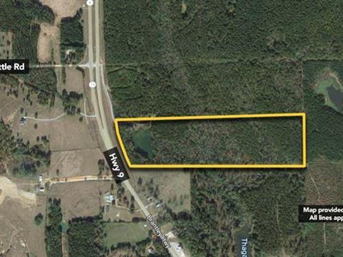 4,130 sf Land, Approx 35.68Ac : Brantley : Crenshaw County : Alabama