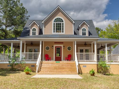 Two Country Homes On 60 Acres : Madison : Florida