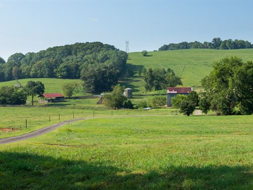 Beautiful 170 Acre Farm : Santa Fe : Maury County : Tennessee
