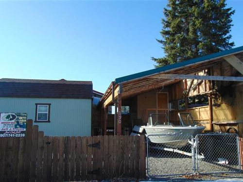 Fish On, Turn Key Fishing Cabin : Soldotna : Kenai Peninsula Borough : Alaska