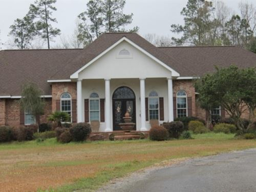 21 Acres With A Home In Lawrence CO : Monticello : Lawrence County : Mississippi