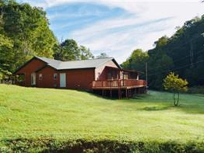 Gorgeous Secluded Log Home In Wv : Pennsboro : Tyler County : West Virginia