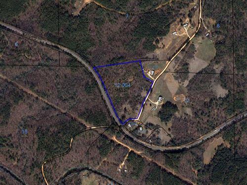 11.5+/- Acres, Clay County, Al : Lineville : Clay County : Alabama