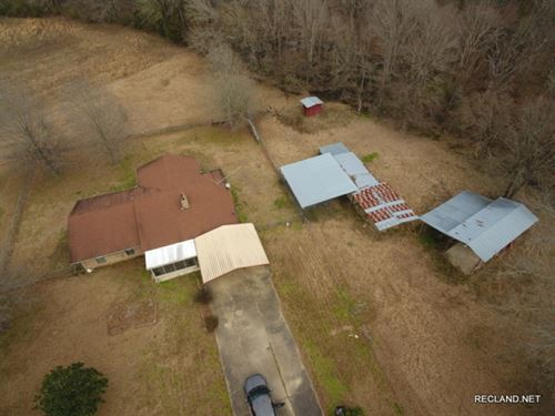 40 Ac, Home And Acreage, Price Re : Delhi : Richland Parish : Louisiana