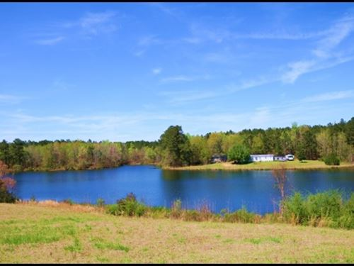 280.3 Acres With A 55 Acre Lake In : Morton : Scott County : Mississippi