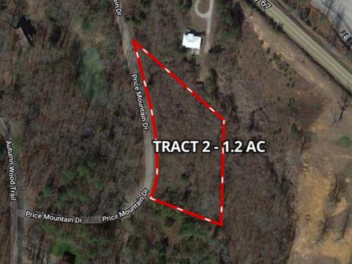 Auction 1.2 AC Price Mountain Dr : Decatur : Morgan County : Alabama