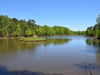 12 Acre Lake, 2 Cabins : Roberta : Crawford County : Georgia