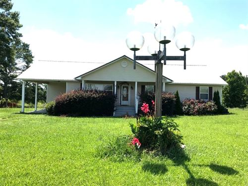 Home With 4.3 Acres : Lineville : Clay County : Alabama