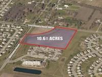 10.6+/- Acres Of Res, Dev, Land : Brownsburg : Hendricks County : Indiana