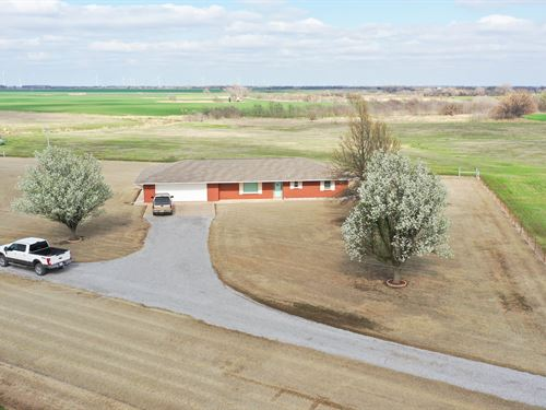 Country Living Home, Barn & 40 Acre : Enid : Garfield County : Oklahoma