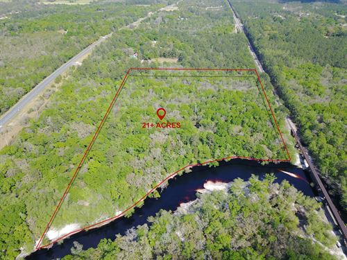 21.70 Acres, Tom Crawford Rd : Hilliard : Nassau County : Florida
