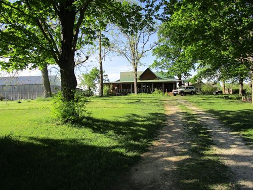 Mini Farm, Home, Rental Cabin : Summersville : Shannon County : Missouri