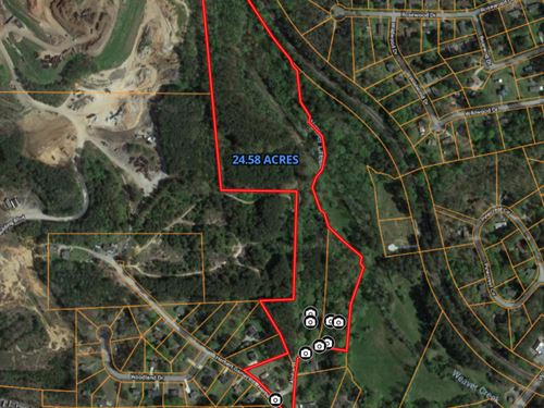 25.6 Acres In City Of Dallas : Dallas : Paulding County : Georgia