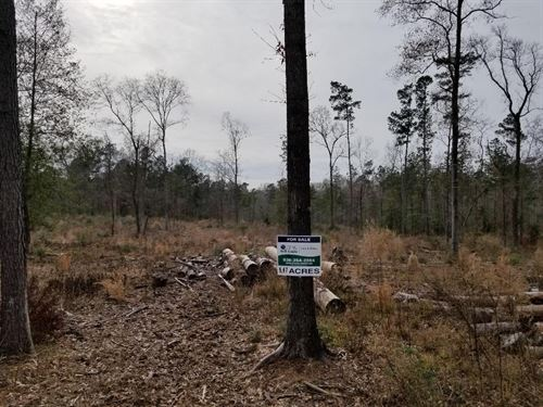 6.47 Acre Country Lot Between : Nacogdoches : Texas