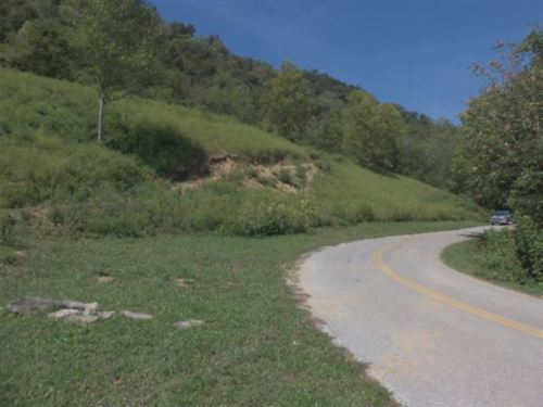 15.89 Ac Creek, Mtn Views, Hunting : Whitleyville : Clay County : Tennessee