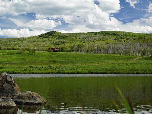 Sanctuary Ranch : Hayden : Routt County : Colorado
