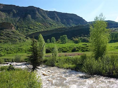 Crystal Creek Ranch : Hayden : Rio Blanco County : Colorado