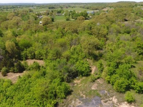 7.5Acre Homesite With Mountain View : Panama : Le Flore County : Oklahoma