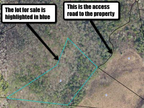 5.4 Acre Lot In The Blue Ridge,Ga : Blue Ridge : Fannin County : Georgia