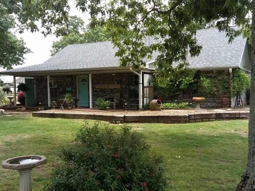 Country Home Land Property Blossom : Blossom : Lamar County : Texas