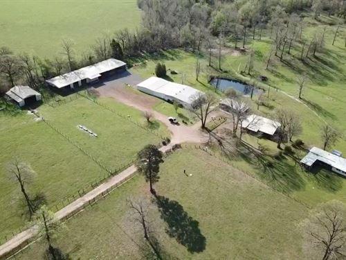 47 Acre East Texas Ranch : Winnsboro : Wood County : Texas