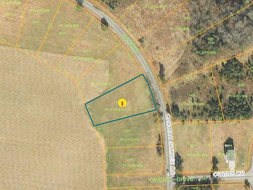 Building Lot Chowan River-Colerain : Colerain : Bertie County : North Carolina