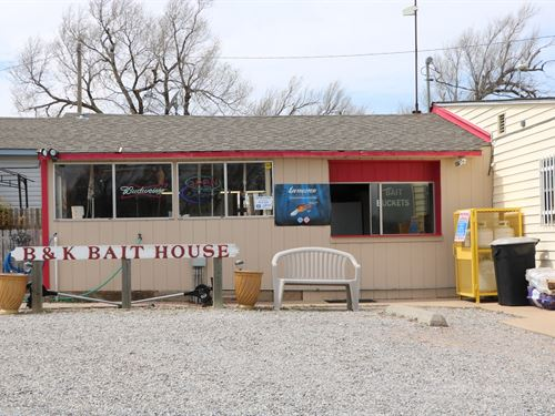 Lake Businesses And Home For Sale : Foss : Custer County : Oklahoma