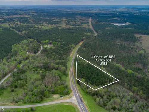 4+ Acres Near Lake Oconee : Greensboro : Walton County : Georgia