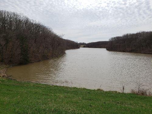 109 Acres, Lake Ready Development : Keokuk : Lee County : Iowa