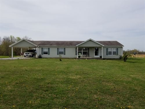 Rural County Home 11 Acres : Liberty : Casey County : Kentucky