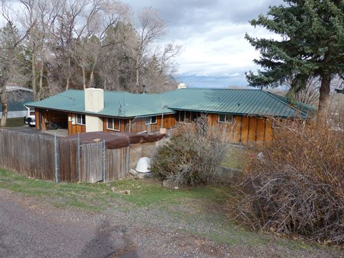 Home In Hines With An Awesome View : Hines : Harney County : Oregon
