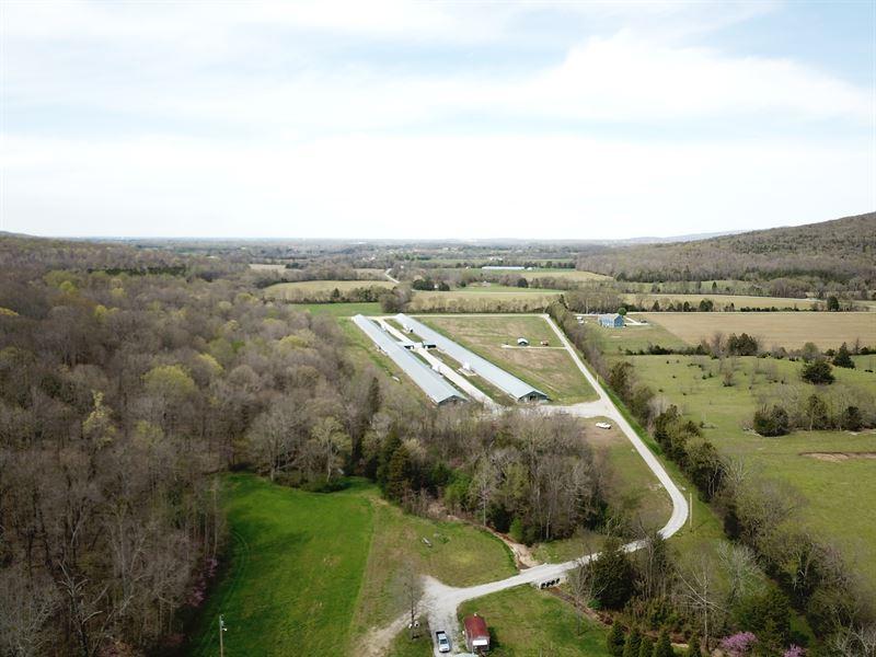4 House Breeder Farm : Franklin : Franklin County : Tennessee