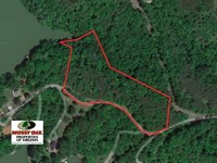 Reduced, 5.4 Acres of Waterfront : Goodview : Bedford County : Virginia