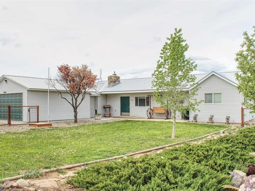 Home on 2 Acres in Dolores, CO : Dolores : Montezuma County : Colorado