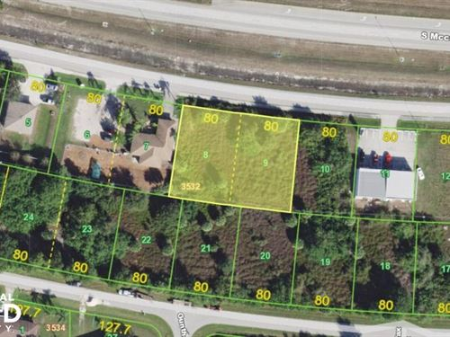 Great Commercial Lot For Sale in Po : Englewood : Charlotte County : Florida