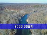 $500 Down On River Property : Lebanon : Dallas County : Missouri