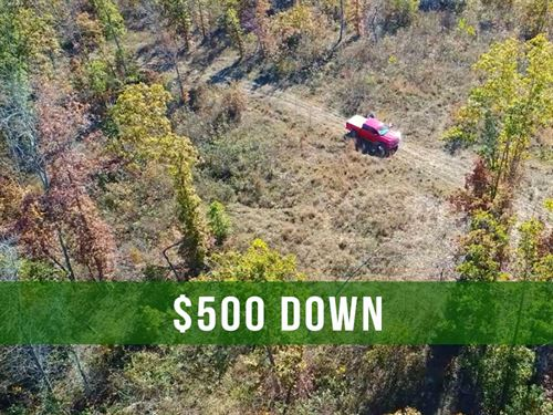 $500 Down On 18 Acres In Ozarks : Eminence : Shannon County : Missouri