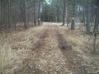 Hunt, Fish OR Camp on This 21 Acre : Glen Flora : Rusk County : Wisconsin