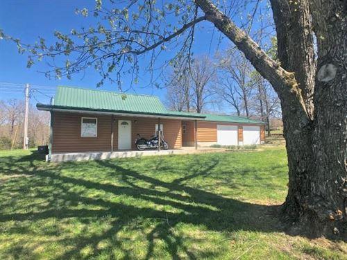 Hobby Farm Charming Home & Full RV : Elk Creek : Texas County : Missouri