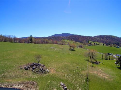11 Acres Great Views Blue Ridge : Independence : Grayson County : Virginia
