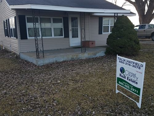 Mo Small Acreage And Home For Sale : Downing : Schuyler County : Missouri