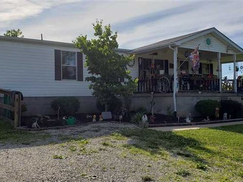Mobile Home on 18 Acres With Cave : Irvington : Breckinridge County : Kentucky