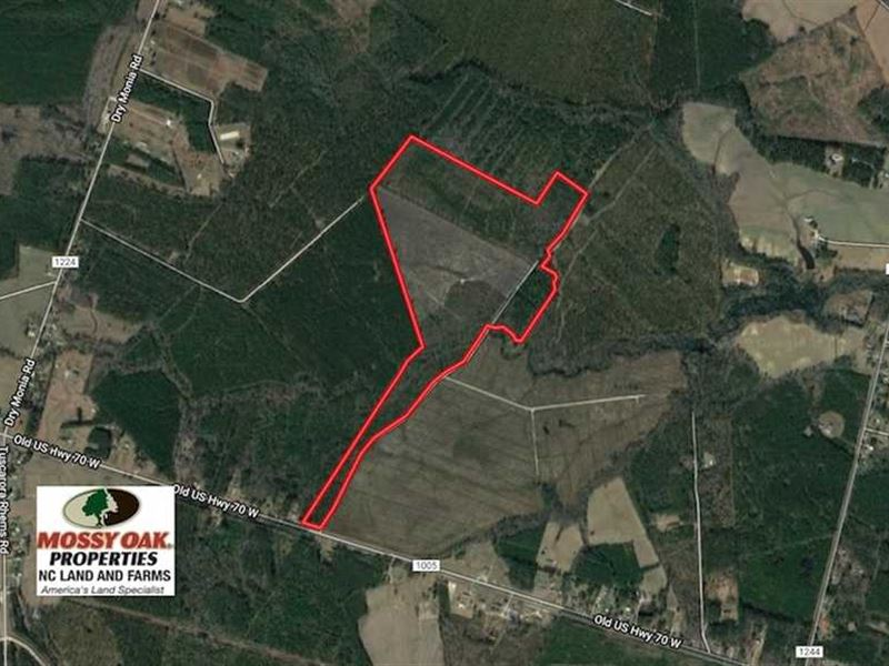 Under Contract, 111 Acres of Hun : New Bern : Craven County : North Carolina