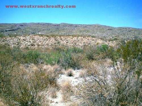 Solitario 20 Acres : Terlingua : Brewster County : Texas