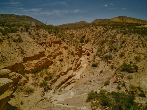 60 Acres On Black Rock Draw : Terlingua : Brewster County : Texas