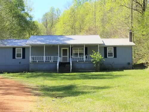 Country Home 24.36 Acres Perry : Linden : Perry County : Tennessee