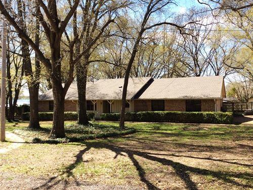 Northeast Texas Lakefront Property : Bonham : Fannin County : Texas